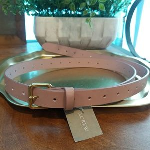 NWT JCrew Italian Leather Belt